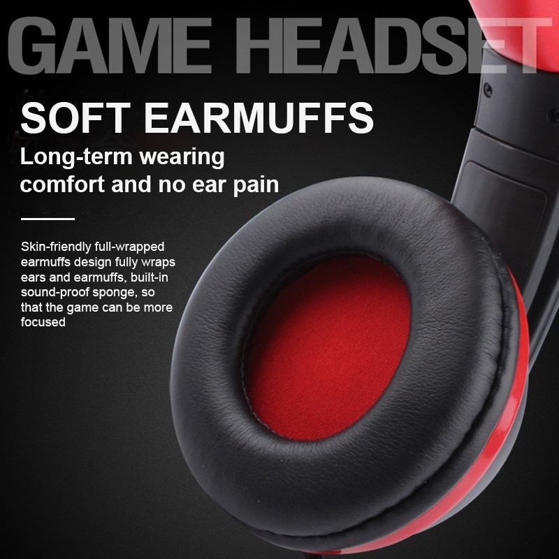 ITINIT E11 Stereo Computer Gamer Headphone with Microphone For PC Noise Cancelling Gaming Headset USB Jack Bass Cascos Music enlarge