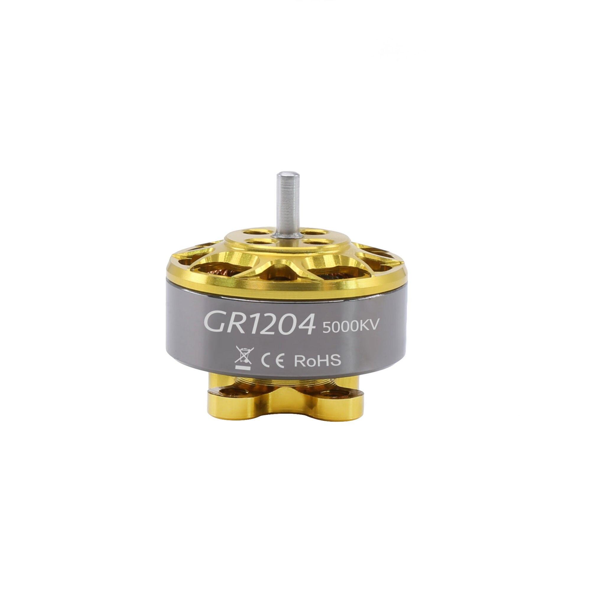 Двигатели GEPRC GR1204 5000kv подходят для стандартной серии для радиоуправляемого FPV квадрокоптера, гоночного фристайла, аксессуары, детали