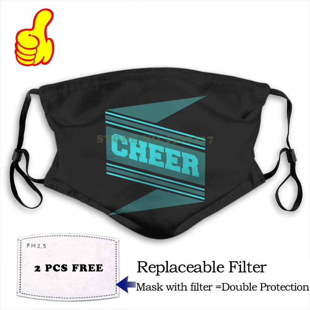 Face Mask Cheer Costume Shirt Funny Cool Masks