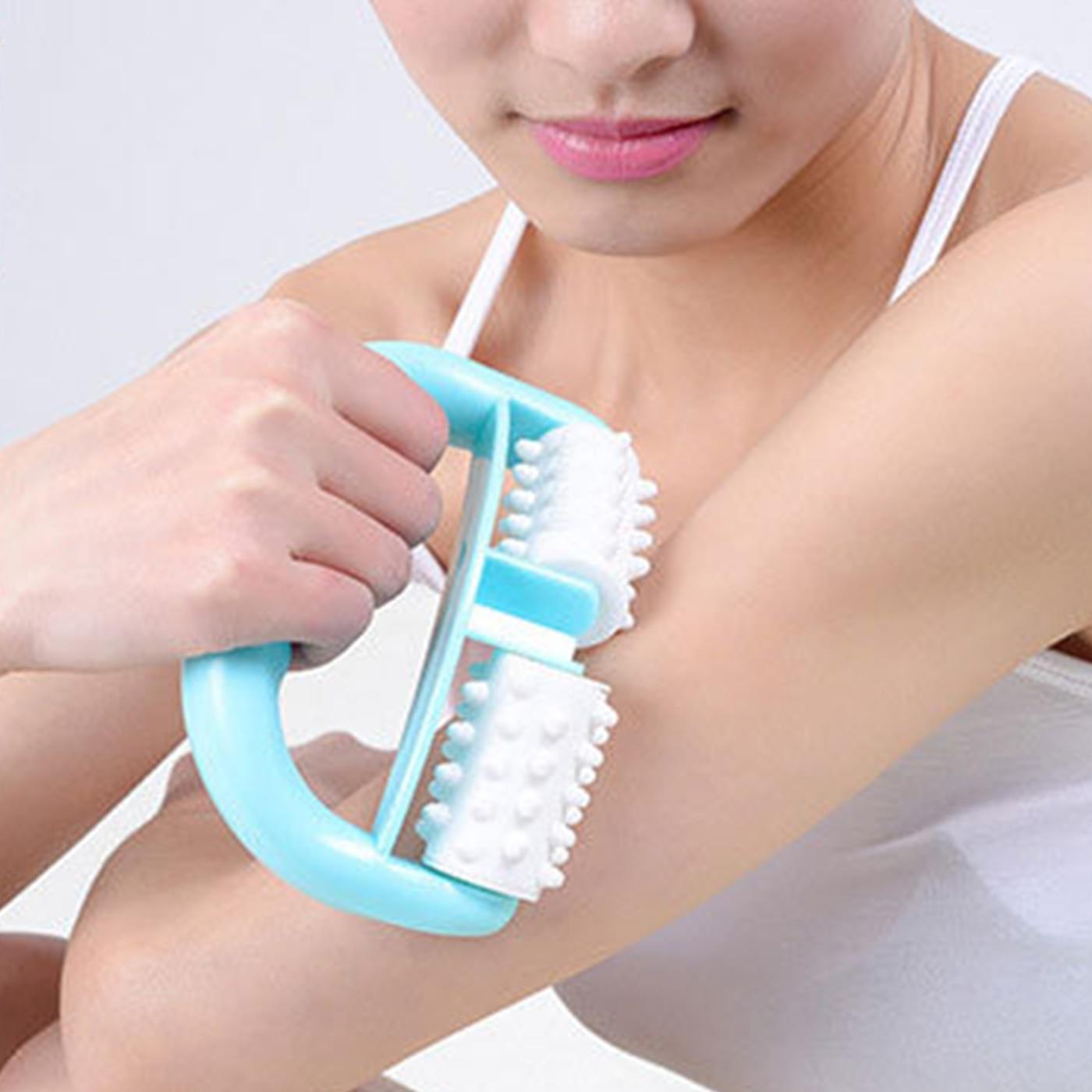Handheld Massage Roller Anti Cellulite Massager Fett Control Roller Massager Cellulite Bein Gesicht Hals Dame Schönheit Massager Werkzeuge