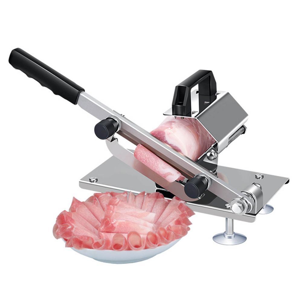 المنزلية السيارات آلة تقطيع اللحوم لحوم البقر تقطيع سهلة قطع لحوم البقر المجمدة/لحم الضأن آلة قطع الخضار لحم الضأن لفات القاطع