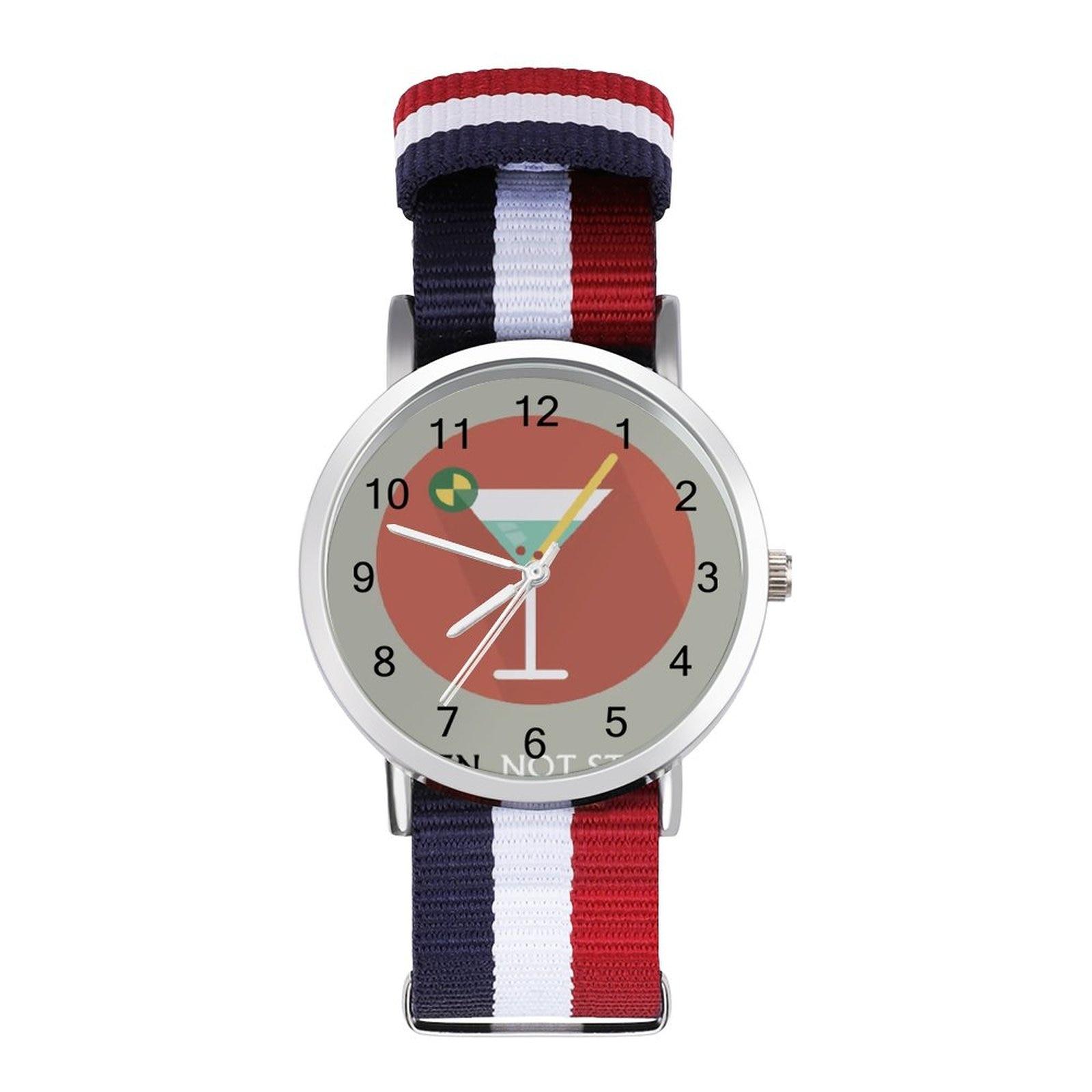 James Bond Quartz Watch Boys Fishing Wrist Watch Analog Design Unusual Wristwatch