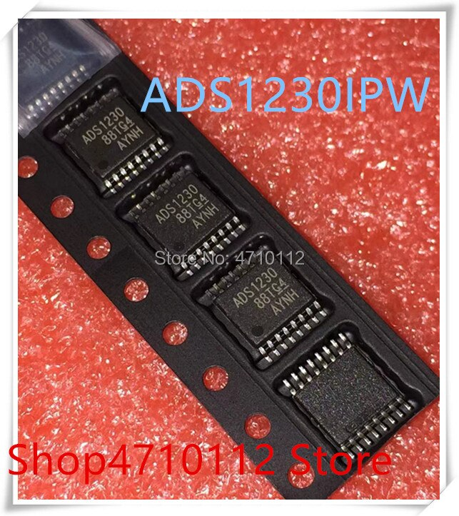 Nuevo 10 unids/lote ADS1230 ADS1230IPWR ADS1230IPW TSSOP-16 IC