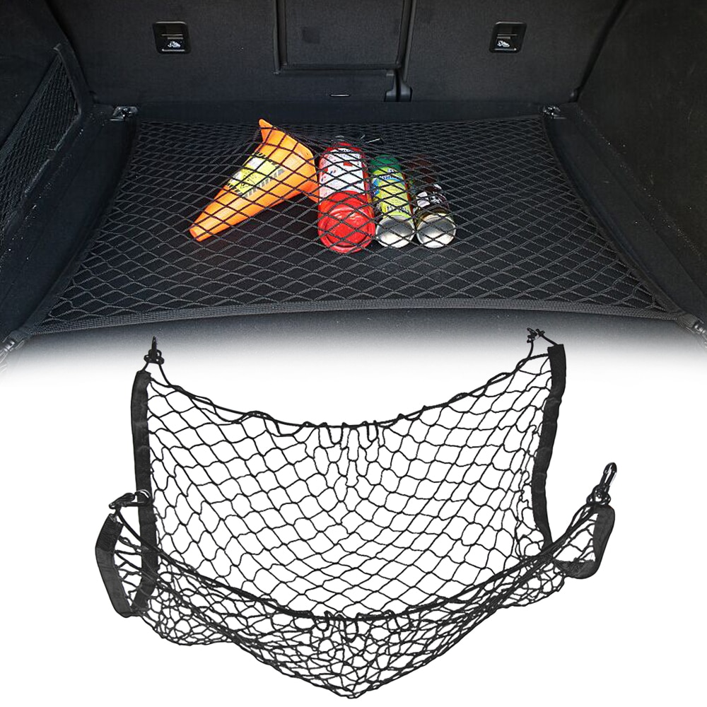 Car Trunk Mesh Net Cargo Luggage for bmw e46 ford focus 2 volkswagen toyota mercedes chevrolet cruze renault bmw e39 passat b5