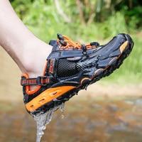 HUMTTO большой размер летняя уличная походная обувь новая дышащая походная обувь для мужчин и женщин пляжные сандалии кроссовки
