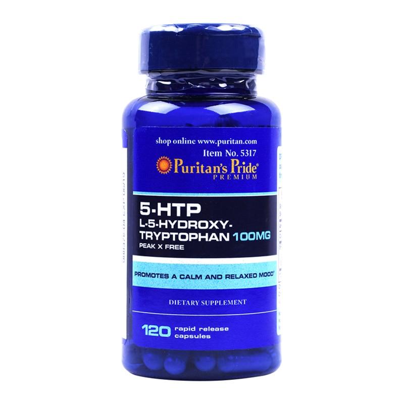 5-HTP L-5-HYDROXY triptófano 100 mg 120 Uds 60 uds