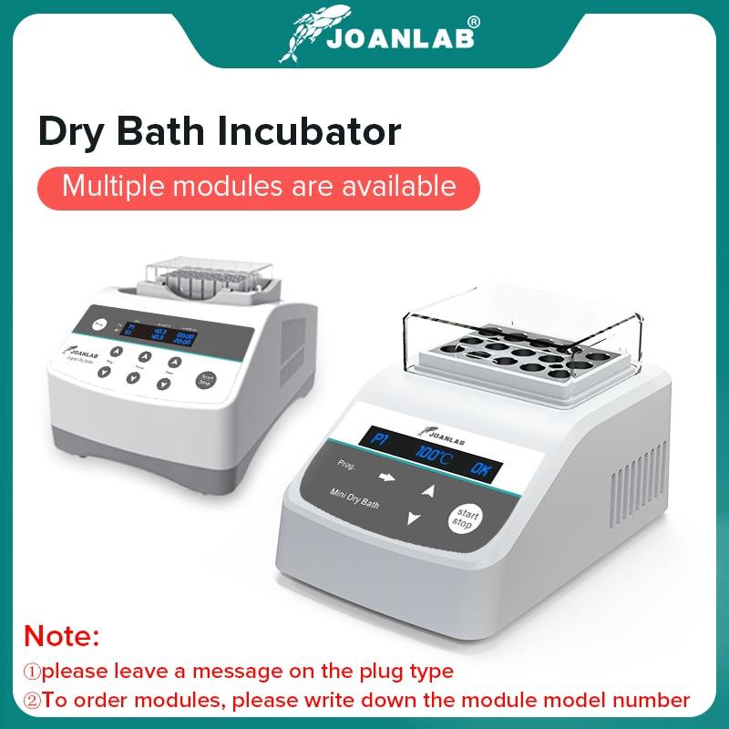 Digital Display Portable Thermostatic Dry Bath Incubator With Heating Block 0.2ml 0.5ml 1.5ml 2ml 15ml 50ml 220v Lab Equipment