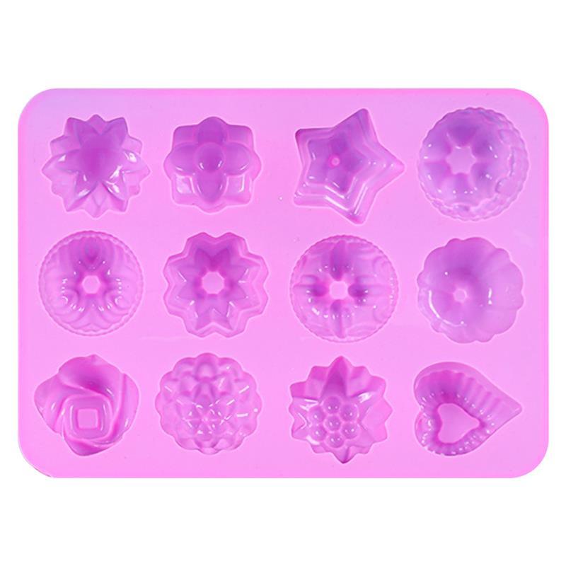 Molde de silicona antiadherente para pasteles, Accesorio para hornear pasteles, postres caseros,...