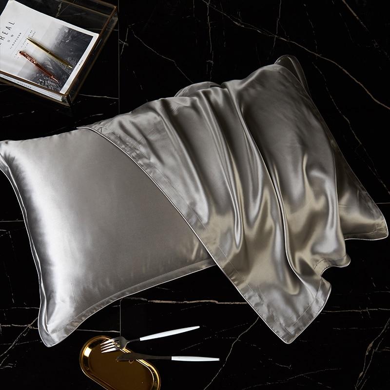 100% pure silk pillowcase real silk pillowcase natural silk pillowcase mulberry silk pillow case sil
