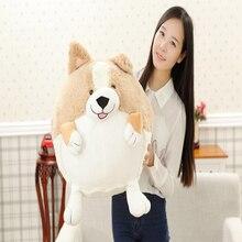 20/30/50cm nouveau CuteCorgi chien en peluche jouet Shiba Inu chien en peluche doux Animal dessin animé oreiller décor à la maison bébé accompagner poupée cadeau de noël