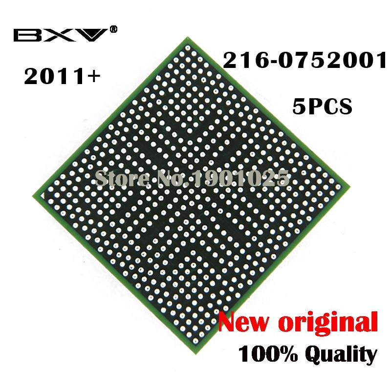 DC 2011 + 5PCS 216-0752001 216 0752001 BGA Chipset laptop chip 100% neue original