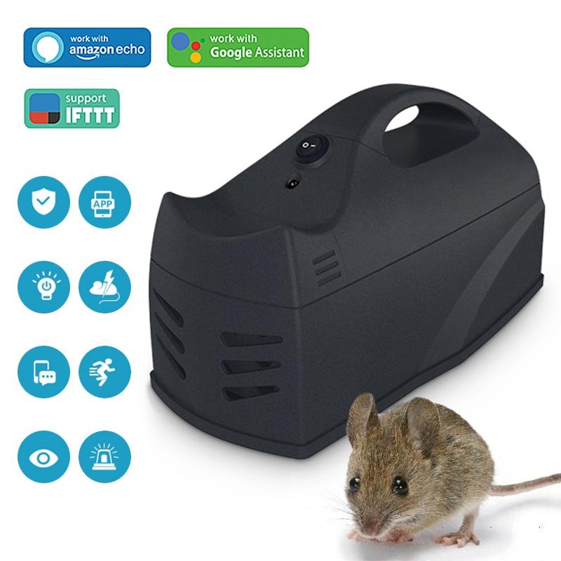 Trampa para ratones sin cables, trampa para ratones, trampa para ratones, Mata roedores, Control WiFi, Sensor con aplicación de Control para teléfono móvil