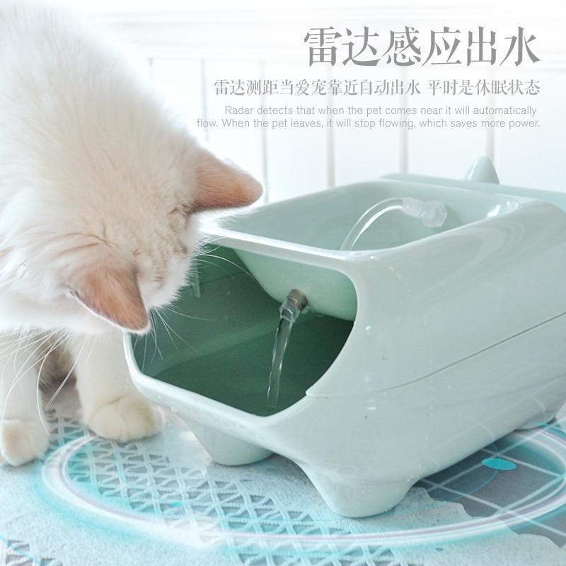 Cat Bowl Dog Water Bottle Pet Food Storage Pet Accessories Luxury Waterbottle Dog Travel Dog Feeder Bebedero Gato House Eg50mg