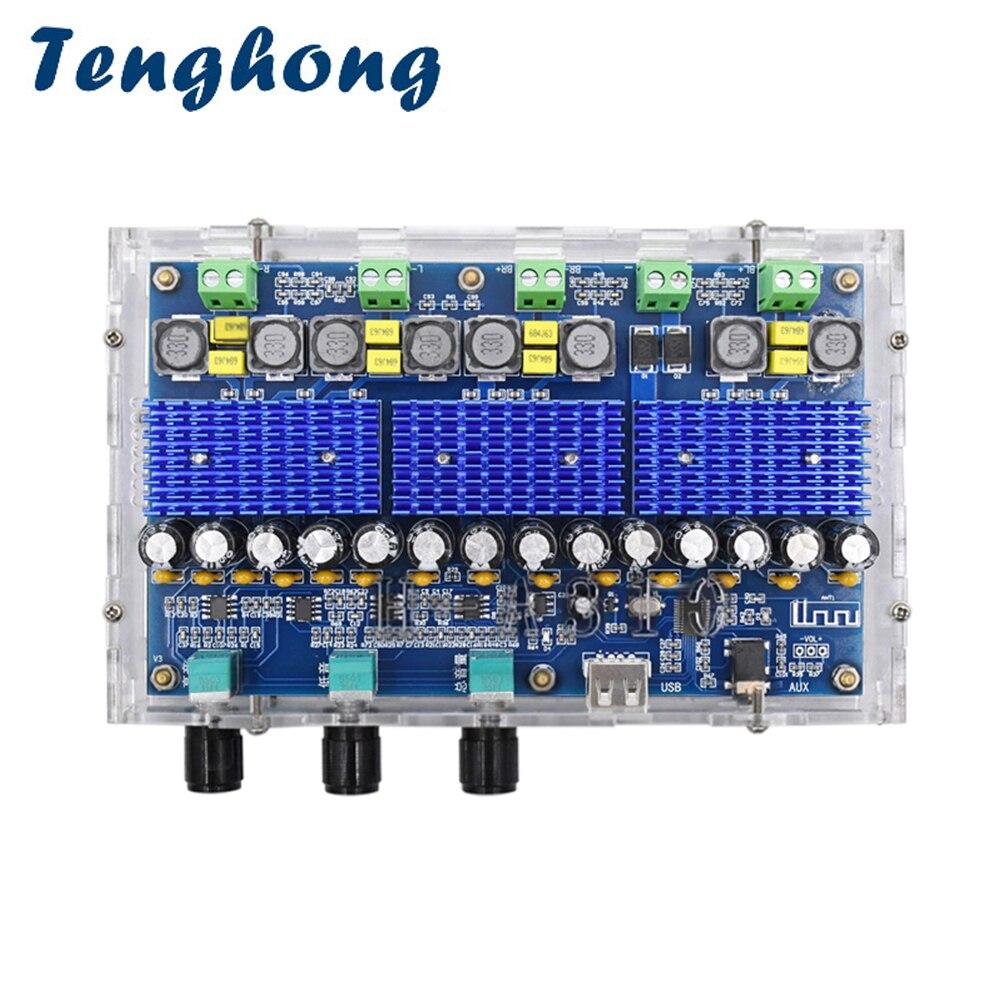 Tenghong-placa amplificadora De Subwoofer TDA3116D2, con Bluetooth 4,0, Clase D, Amplificador De...