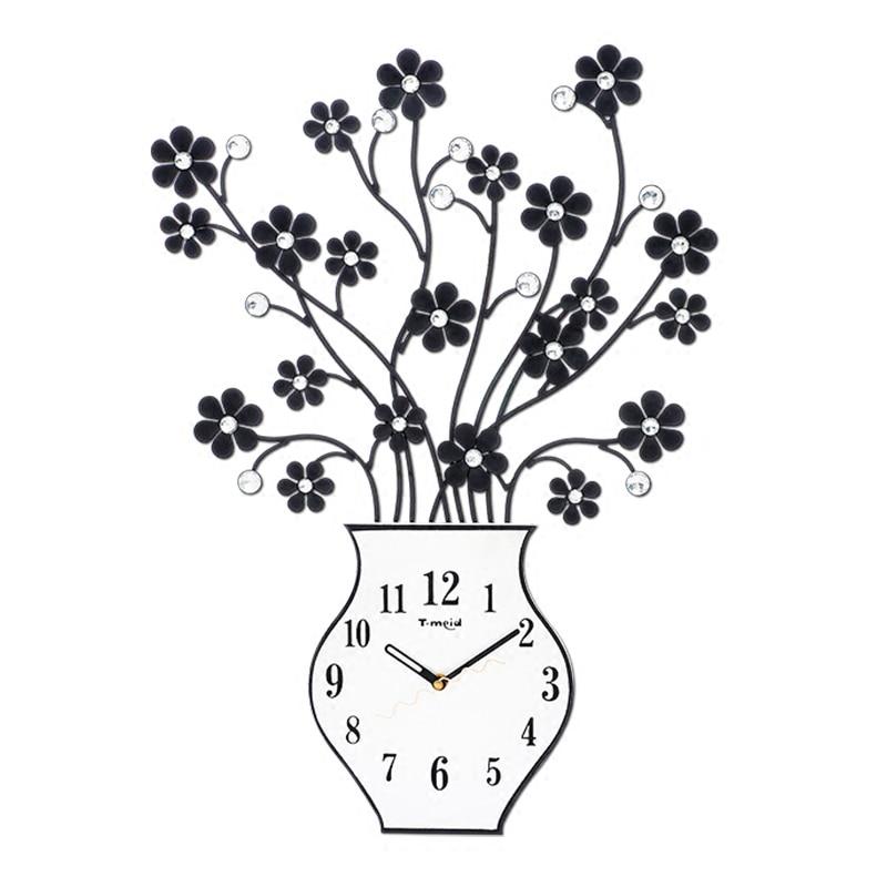 Relógio luminoso de parede, decorativo, silencioso, para sala de estar, arte criativa, mm60wc