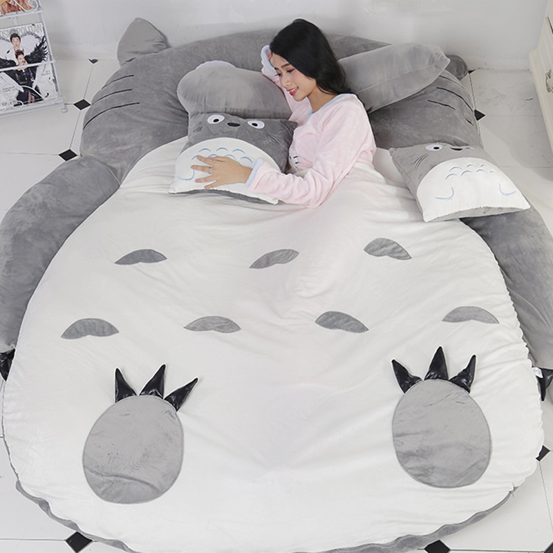 هدية جديدة للطفل الكرتون توتورو فراش أريكة استرخاء السرير الترفيه الراحة تاتامي جميل الإبداعية غرفة نوم صغيرة الحصير لينة