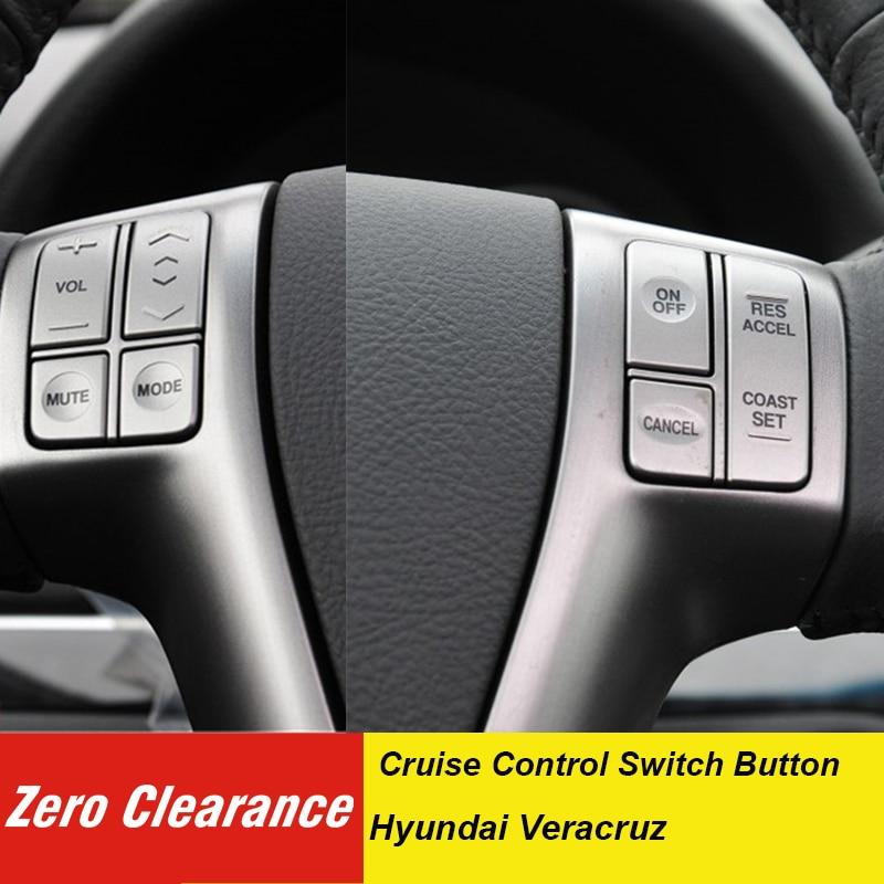 Botón de volante multimedia BrandGenuine, botón de control de volumen, botón de control de crucero para hyundai Veracruz