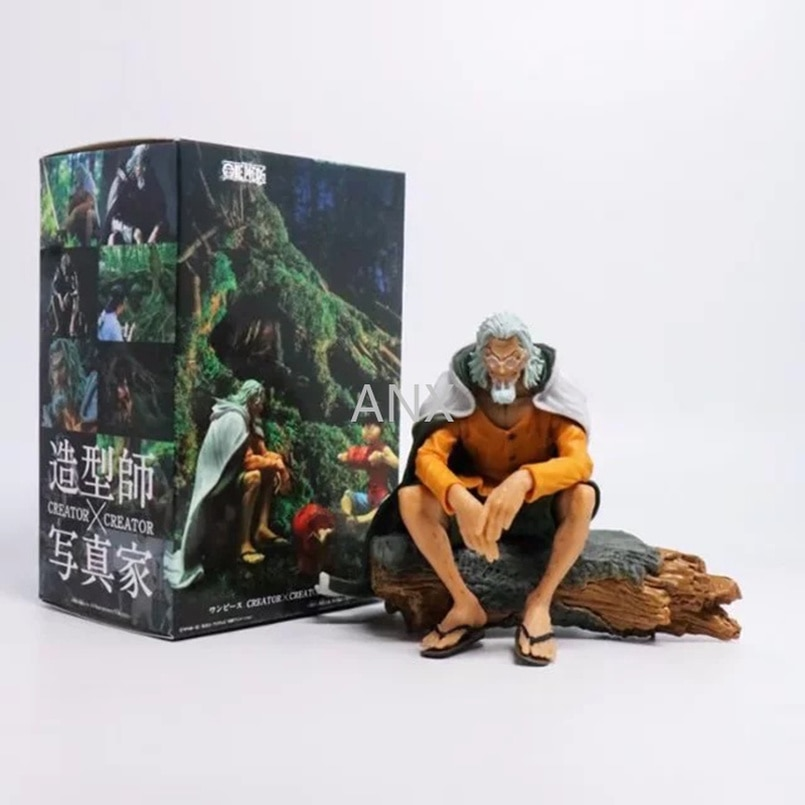 12CM Japanese Anime One Piece Figure Rayleigh PVC Action Figure Collection Luffy Master Rayleigh Figure Model Toys Children Gift 15cm anime one piece figure combat version marshall d teach figure toys collection pvc action figure one piece toys model gifts