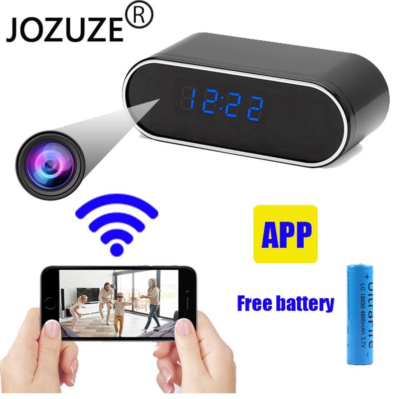 Lookcam wifi camera Secret Clock micro camera Recorder Security Night Vision Motion Detect Camcorder