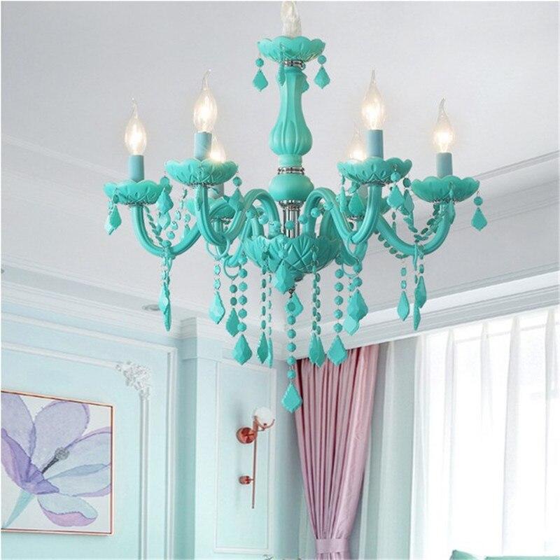 Lámpara led de cristal moderna para sala de estar, dormitorio, cocina, accesorios...