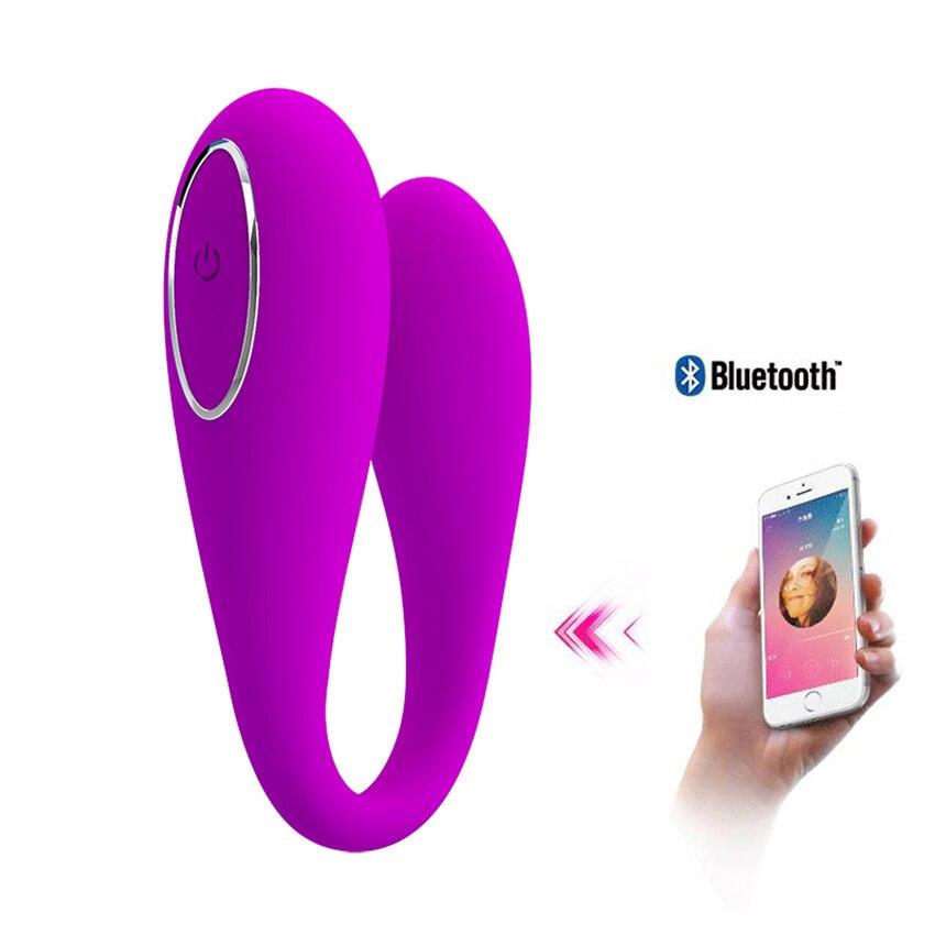 Vibrador con Control por aplicación remota para mujer, Vibrador para el punto...