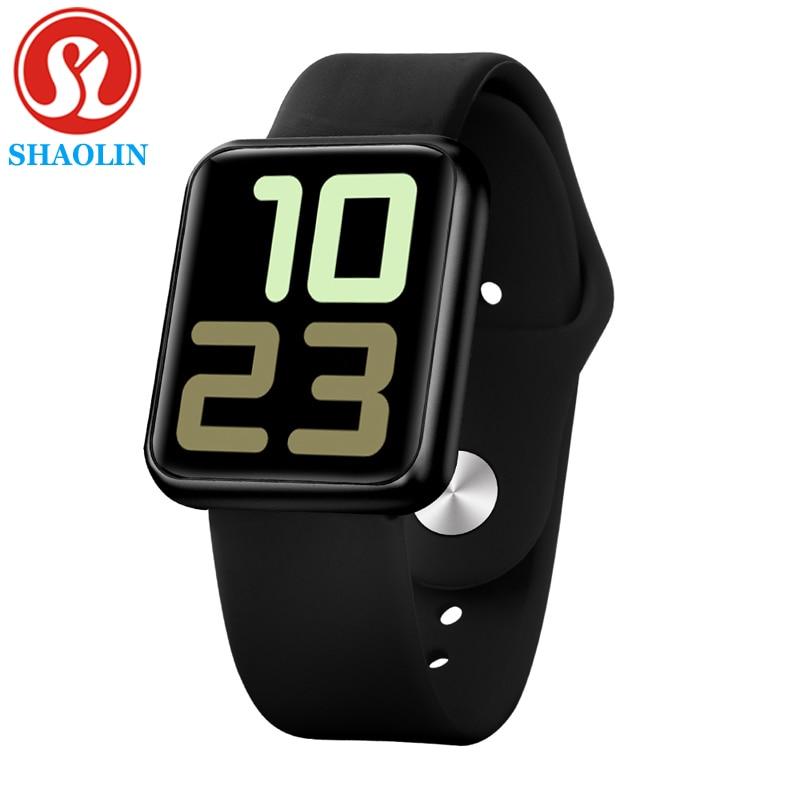 Man Woman Smart Watch Waterproof Smartwatch Heart Rate Blood Pressure Monitor Band for Apple Watch i