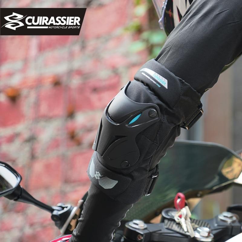 Motorcycle Knee Pads Motocross Knee Protector Elbow Guards MTB Kevlar Protective Kneepads Moto Knee&Elbow Brace Support Gear enlarge