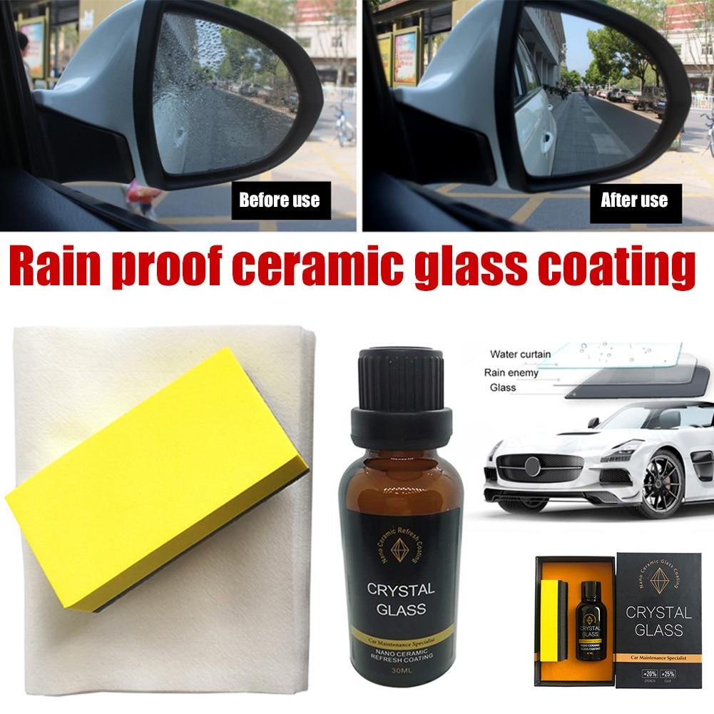 30 мл автомобиля Стекло нано-покрытие, поглощая формальдегид и с украшением в виде кристаллов покрытие жидкость для автомобильного стекла С...