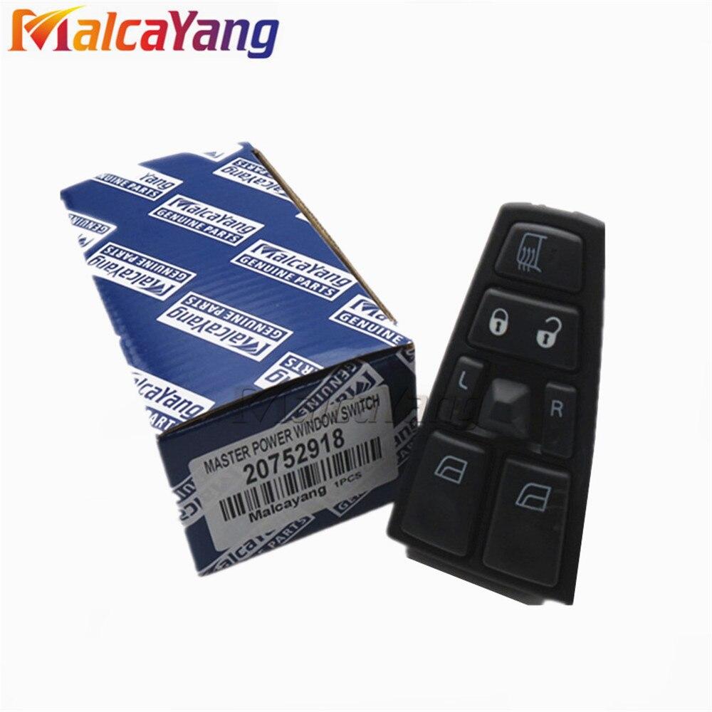 20752918 a 21543897 24V eléctrico interruptor principal de ventana eléctrica para Volvo camión FH12 FM VNL 21277587 de 20568857 a 20452017
