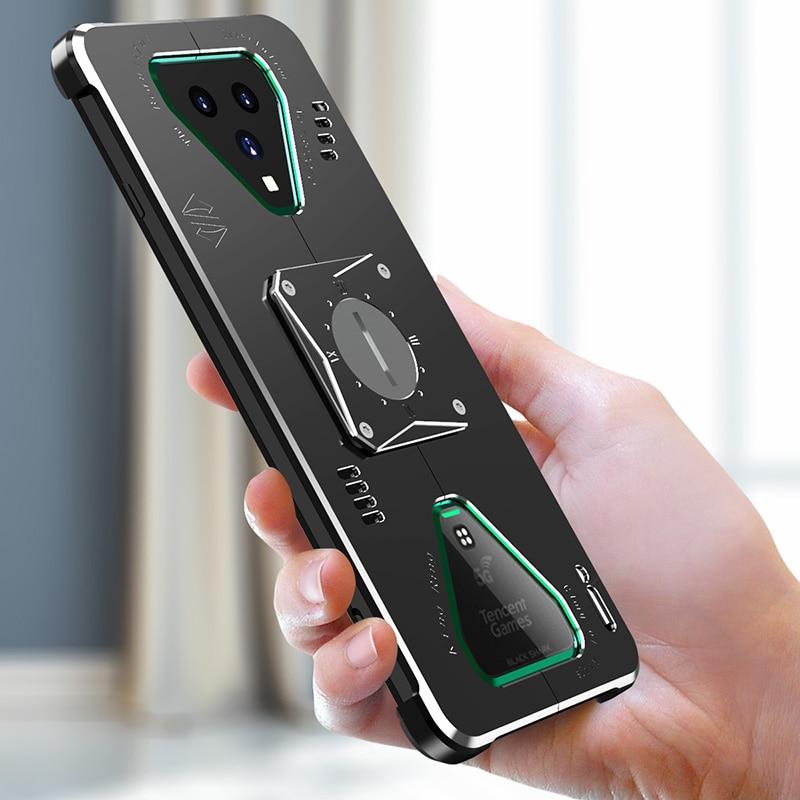 3FCASE металлический черный Акула 3 Pro чехол противоударный алюминиевый металлический бронированный чехол для Xiaomi Black Shark 3 Pro Чехол Для Телефона
