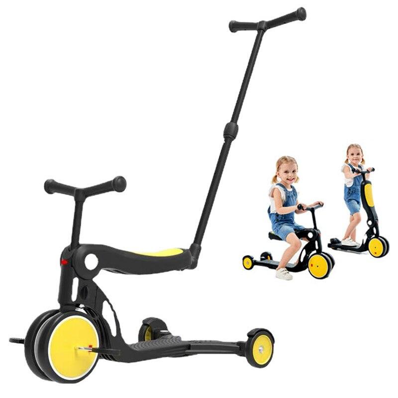 دراجة الأطفال دراجة ثلاثية العجلات التوازن 1-6 سنوات سيارة صغيرة للأطفال على اللعب ثلاث عجلات عربة السفر عربة خفيفة الوزن