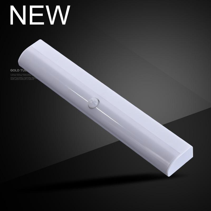 Беспроводная светодиодная подсветка под шкаф PIR датчик движения светодиодный ночник 10 светодиодов для шкафа шкаф для ламп шкаф кухонное ос...