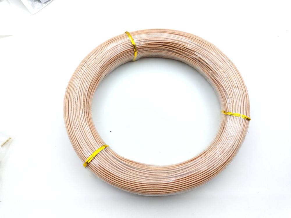 1 carretel 200 m cabo rg 178 rf coaxial cabo adaptador conector coaxial 50 ohm temperatura pode chegar a 250 graus celsius