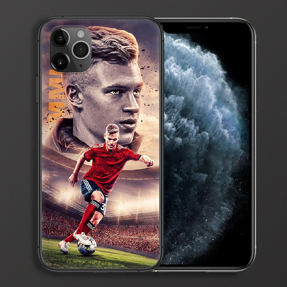 Joshua Kimmich Football Phone case For iphone 4 4s 5 5S SE 5C 6 6S 7 8 plus X XS XR 11 12 mini Pro Max 2020 black funda tpu  - buy with discount