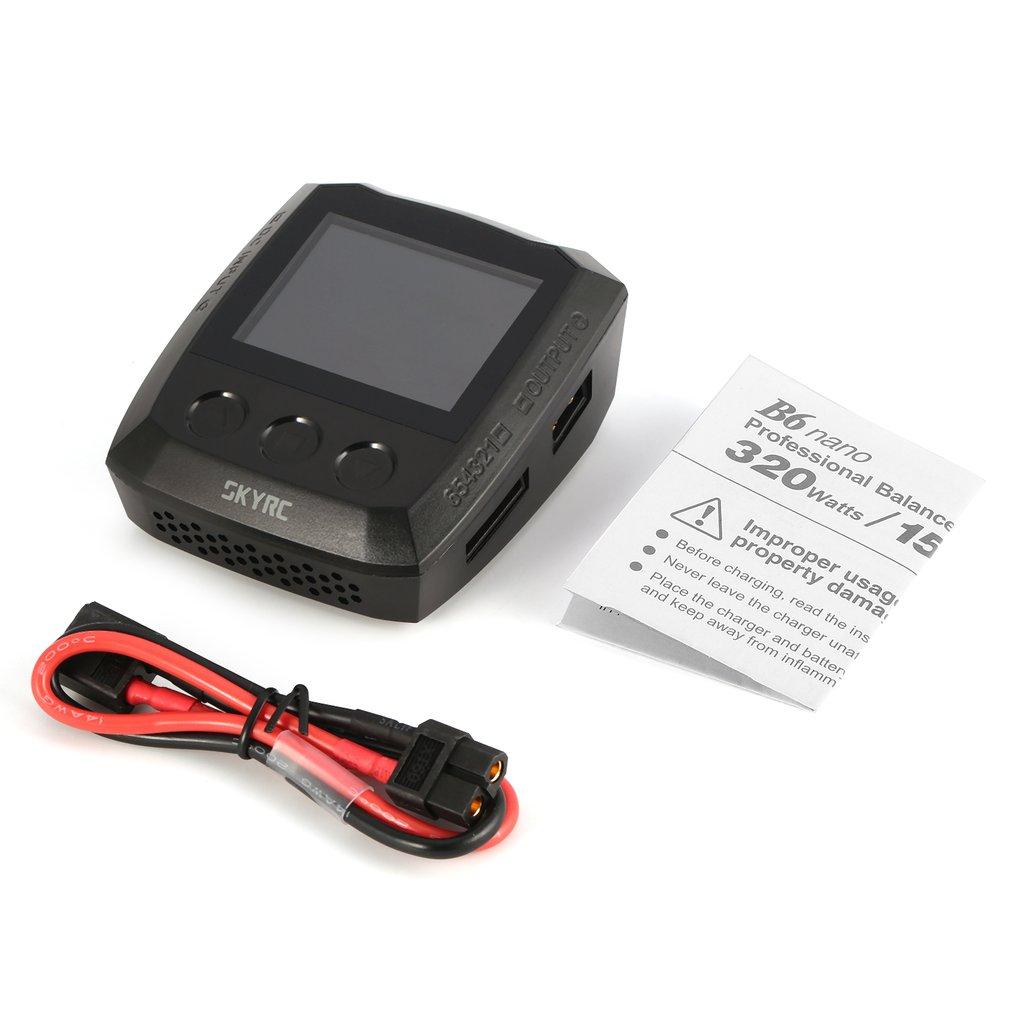 SKYRC B6 Nano DC 320W 15A DC Bluetooth LiPo Batterie Ladegerät Entlader für Leben/Lilon/LiPo/ liHV/NiMH/NiCd/PB