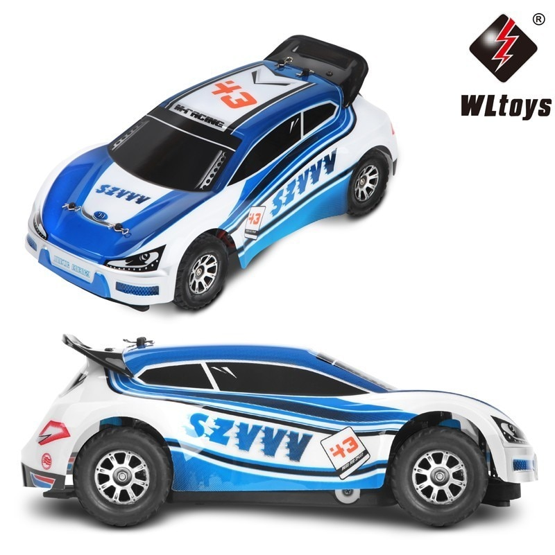 Wltoys A949 Racing Rc Auto Originele Rtr 4WD 2.4Ghz Speelgoed Afstandsbediening 1:18 Hoge Snelheid 50 Km/h Elektronische Gratis enlarge