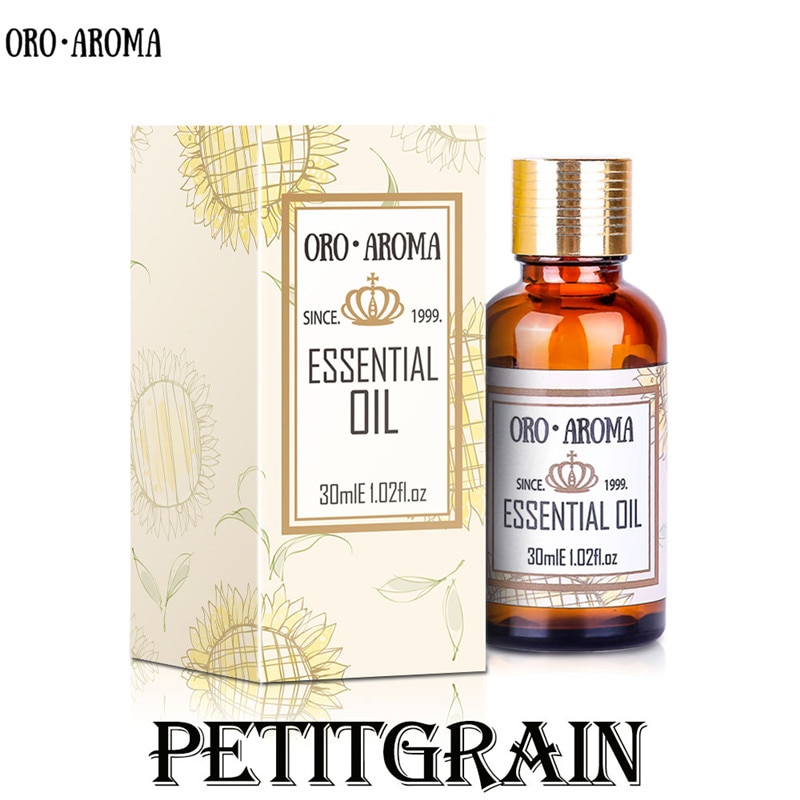Aceite de Petitgrain natural oroaroma de la famosa marca, agente estabilizador, estado de ánimo calmante, aceite esencial de Petitgrain para resistir enfermedades