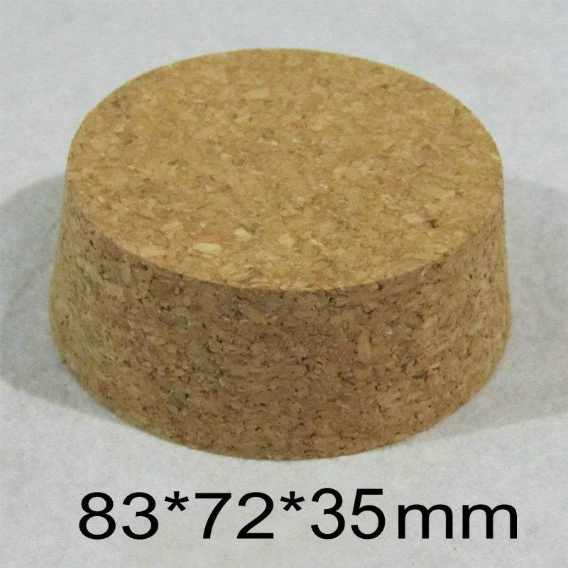 83*72*35 мм лаборатория деревянные винные пробки Чай буферная ёмкость Стекло винные пробки для бутылок