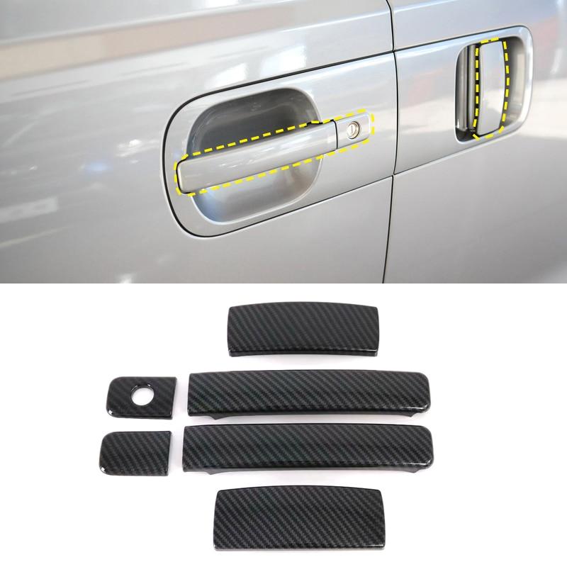 Accesorios Nuevos para Jeep Compass Segunda Generación 2017 2018 manija de la puerta lateral del coche ajuste 8 piezas accesorios