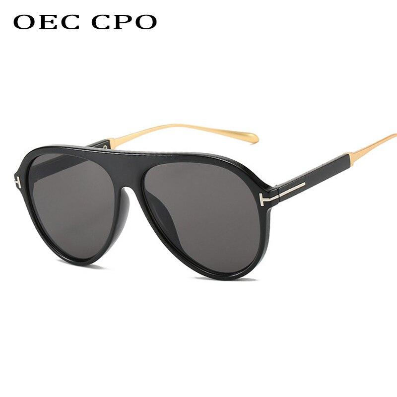 OEC-MANAGEMENT CPO Klassische Pilot Sonnenbrille Männer Fahren Gläser Braun Grau Klare Linse Sonnenbrille Männlichen Vintage Marke Sonnenbrille Frauen очки UV