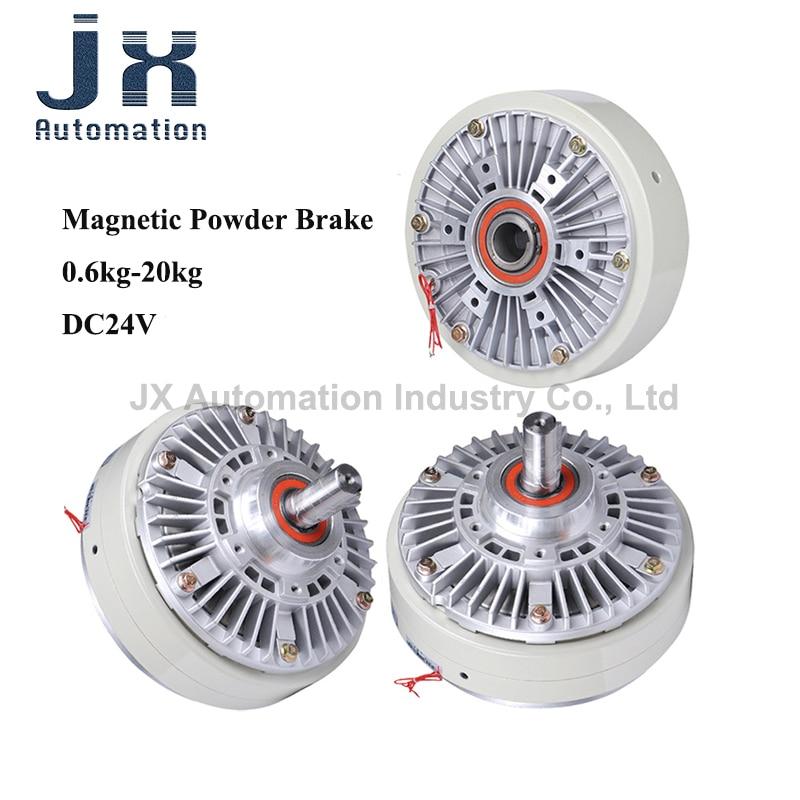 DC24V Tension Controller Magnetic Powder Brake clutch PB2-0.6 PB2-1.2 PB2-2.5 PB2-5 PB-0.6 PB-1.2 PB-2.5 PC-0.6 PC-1.2