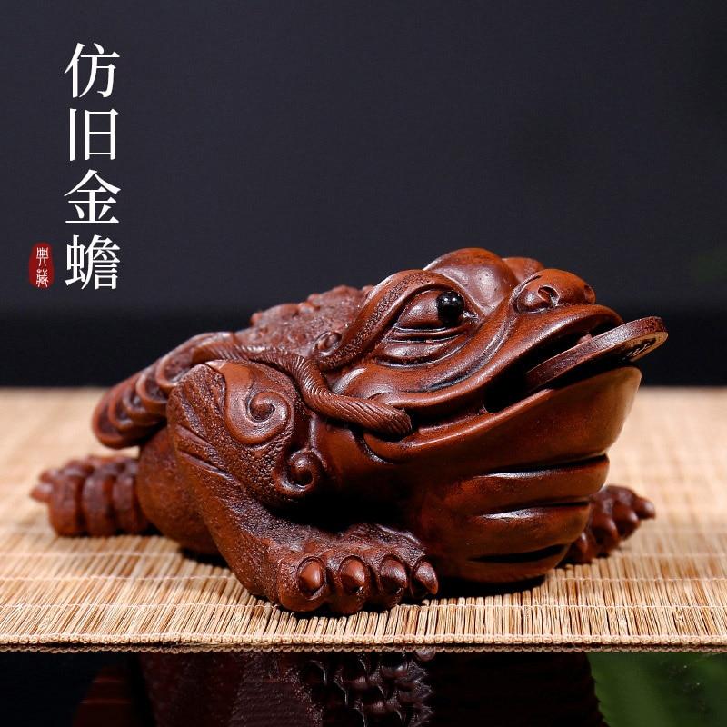 أواني أثاث المطبخ للشاي الأرجواني yixing ، الرمل ، إبريق الشاي العلجوم ، إكسسوارات المجوهرات