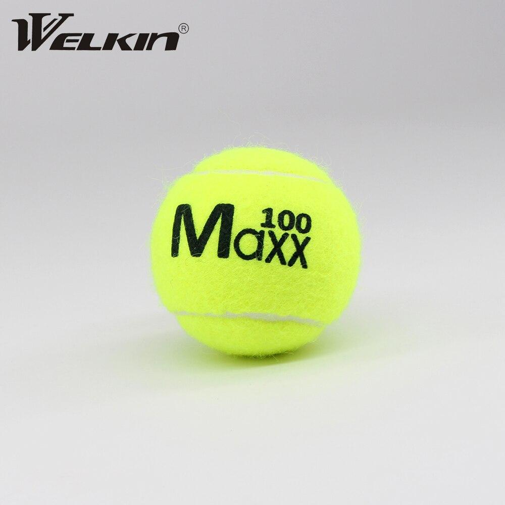 1 шт., взрослый Молодежный тренировочный теннис, профессиональный тренировочный теннис для друга, Высококачественная резина, подходит для н...