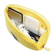 Portable Storage Bag Digital Gadget USB Cable Earphone Pen Travel Bags Cosmetic Makeup Case EDF88