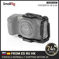 SmallRig BMPCC 4K 6K Half Cage for Blackmagic Design Pocket Cinema Camera Cage With Nato Rail/Arri Locating Hole/Could Shoe2254B