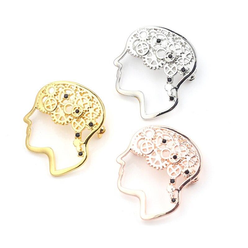 Модная чаша булавка-значок Hygieia, ювелирное изделие, медицинский значок для мозга, Женские аксессуары, подарок