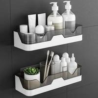 Etagere murale de salle de bain  support de shampoing  etagere de douche  panier de rangement de cuisine  organisateur de maquillage  accessoire de salle de bain