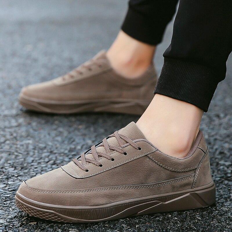 Мужская обувь на плоской подошве для скейтборда Уличная Повседневная мужская