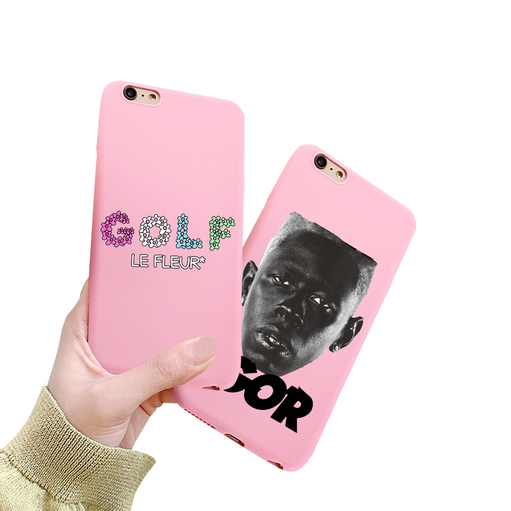 Funda Golf Tyler die creator igor album Rosa Farbe Soft Cover Für iPhone 11 Pro MAX Xs 8 7 6S Plus XS XR Silikon etui