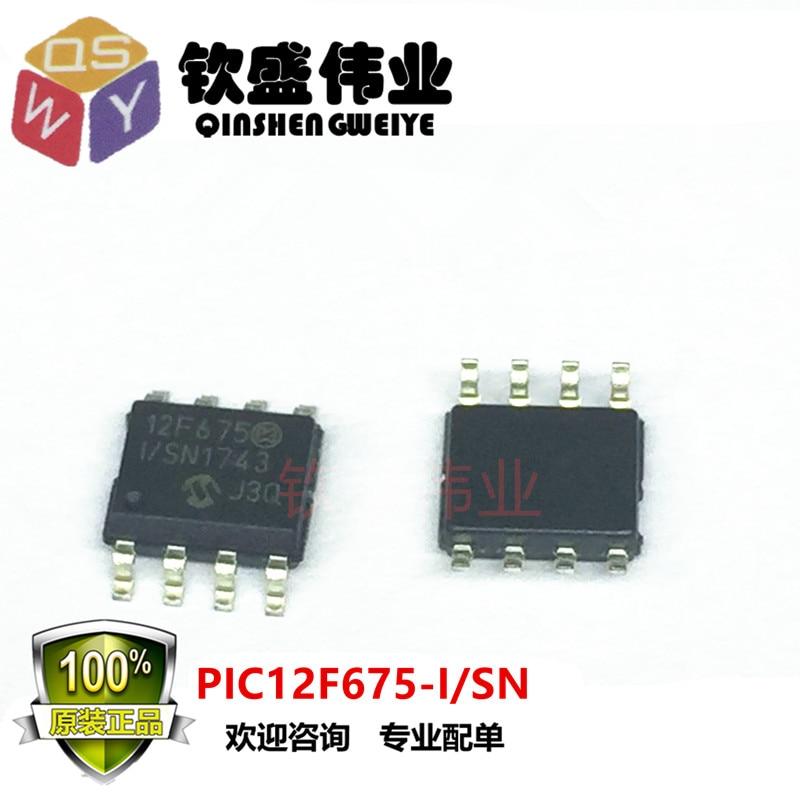 PIC12F675-I/SN SOP-8 PIC12F675-ISN PIC12F675-I 12F675I/SN